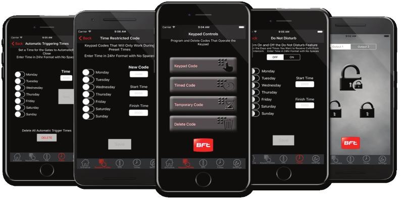 bft access cellular app
