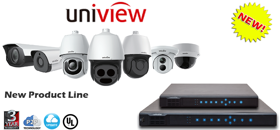 Uniview Vandal Dome IP Cameras