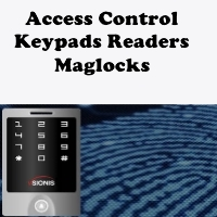New Tech Industries access control keypads