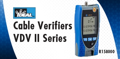 New Tech Industries VDVII Voice Data and Video Cable Verifier