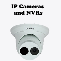 New Tech Industries Uniview IP cameras and NVRs