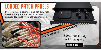 New Tech Industries Rackmount Fiber Optic Panels