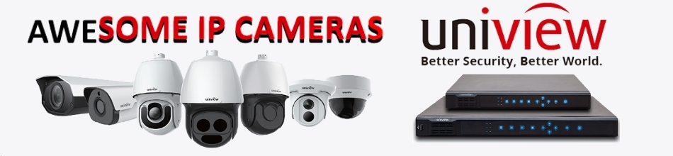 Uniview IP Cameras and NVRs