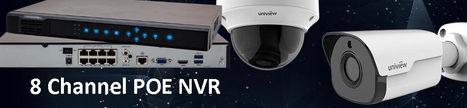 8ch NVR POE System